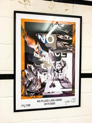 No Place Like Home A1 Digital Print
