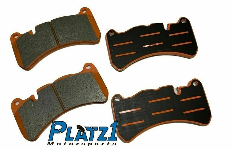 Platz1 Front Brake Pads Set for Ford Focus ST MK3 2014 of 6-pot 355 Big BrakeKit
