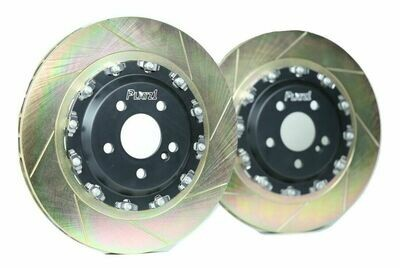 Platz1 360mm Rear 2-PC Floating Disc Brake Rotor Upgrade for Benz W205 C63/S AMG