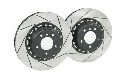 Platz1 Front 2-pcs 350mm Brake Disc Upgrade Rotor for Toyota C-HR 2018-Rotor Kit