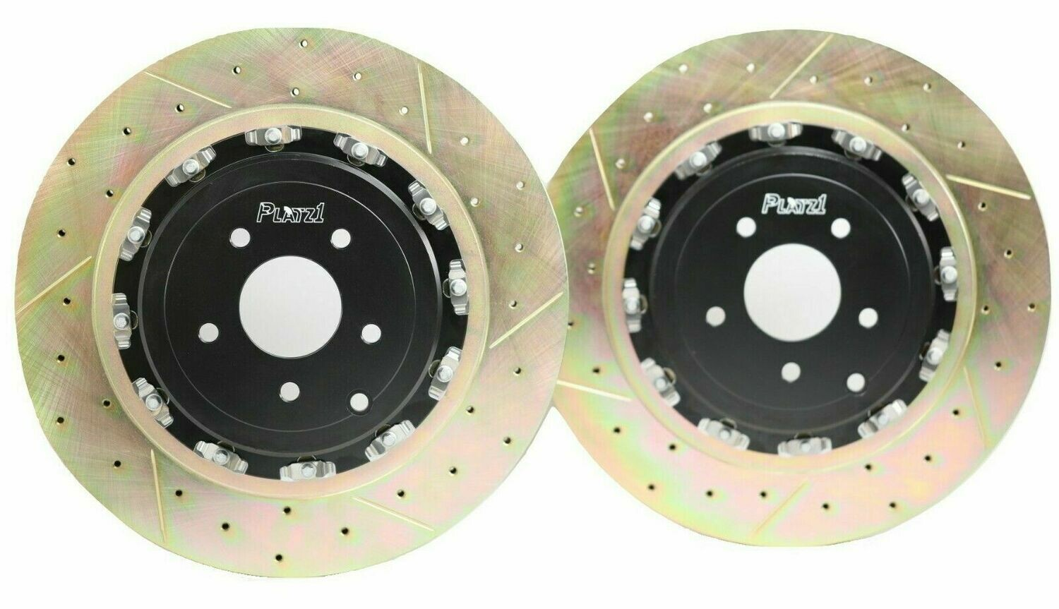 Platz1 380mm FRONT 2-Piece Floating Disc Brake Rotor Upgrade for Nissan GT-R R35