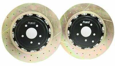 Platz1 380mm REAR 2-Piece Floating Disc Brake Rotor Upgrade for Nissan GT-R R35