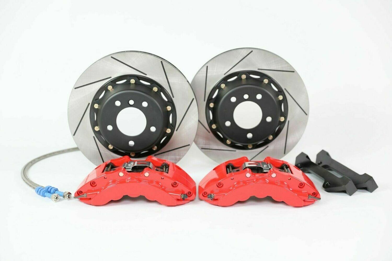 Platz1 Front Big Brake Kit 6-pot Caliper 355mm Rotors for BMW 535d E60/E61 04-10