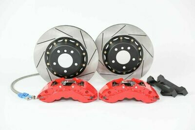 Platz1 Front Big Brake Kit 6-pot Caliper 355mm Rotors for BMW 535d E60/E61 04-10