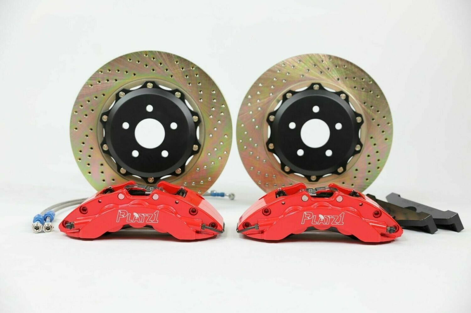 Platz1 Front Big Brake Kit 6-pot Caliper 355mm Rotors for Ford Focus ST MK3/2014