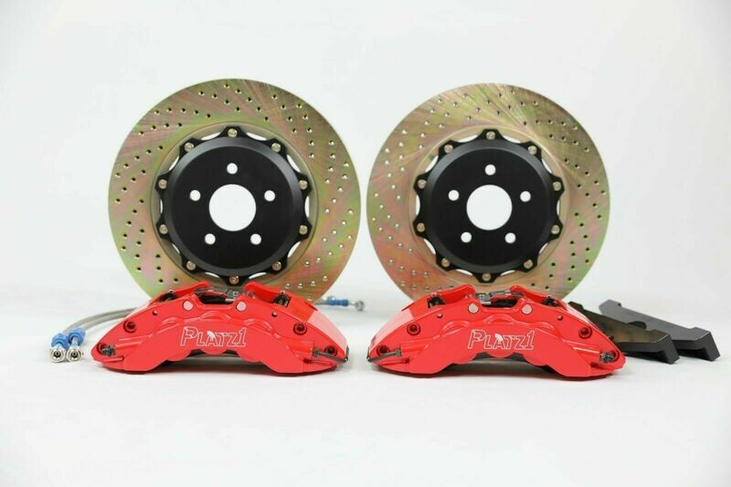 Platz1 Front Big Brake Kit 6-pot Caliper 355mm Discs for Ford Focus ST MK3/2014