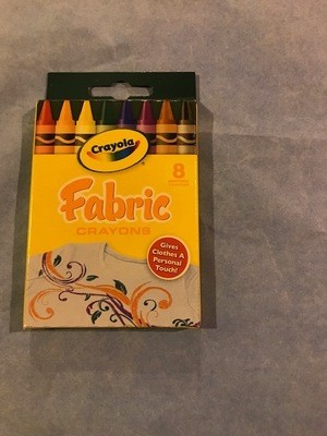 Crayons, fabric 8 color