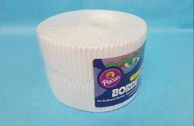 Bordette, White