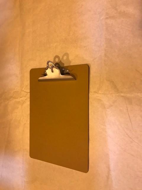 Clip Board, Letter