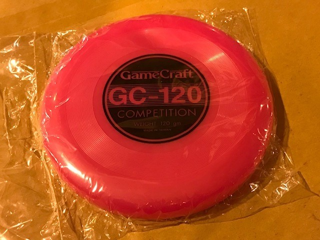 "Frisbee, 9-1/2"" disc, 120"
