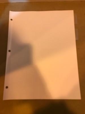 Divider Sheets, 5 tabs