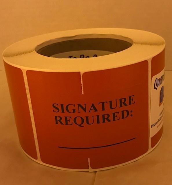Labels, Shipping, Signat