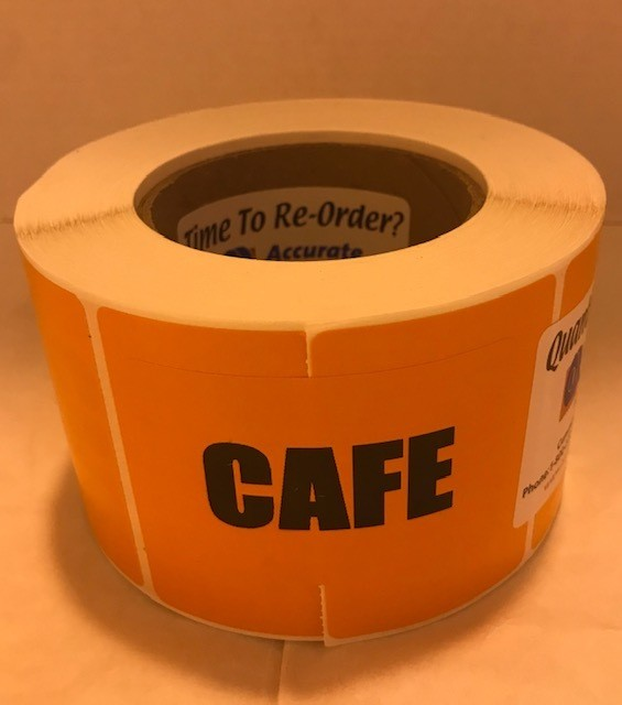 Labels, Shipping, Cafe,