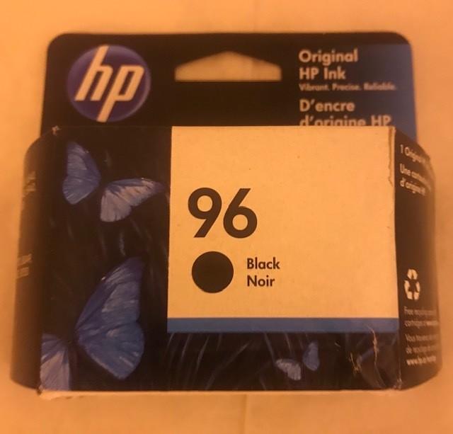 Cartridge, Ink, Black HP