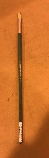 Brushes, White, flat #8