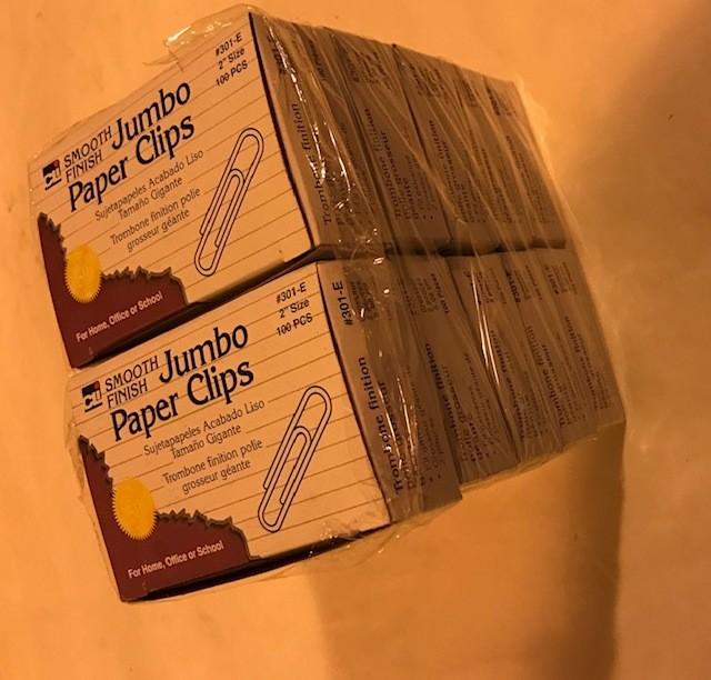 Paper Clips, Gem, Jumbo