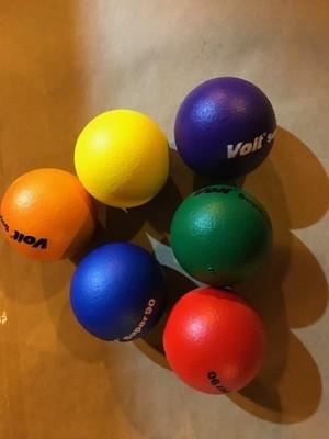 Ball, foam, tuff coated,