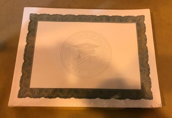 Certificate, Award, Green