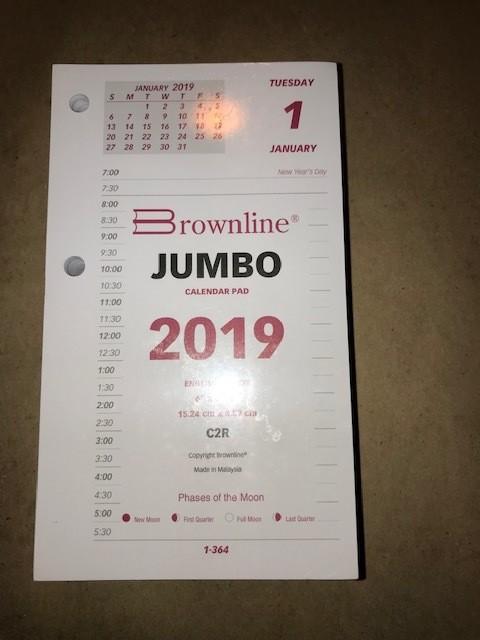 Calendar, Refill, 717