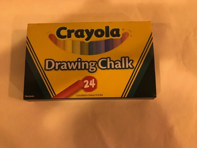 Chalk, Drawing, assorted
