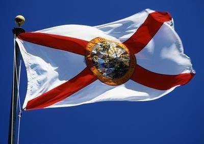 Flag, Florida, 3x5, I/O