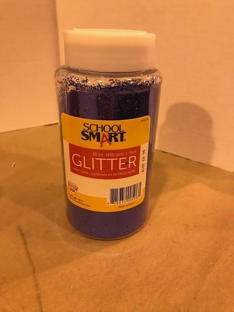 Glitter, Blue