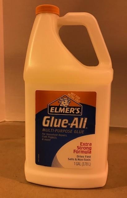 Glue, School, White