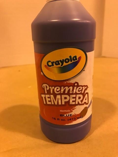 Paint, Tempera, Blue 16