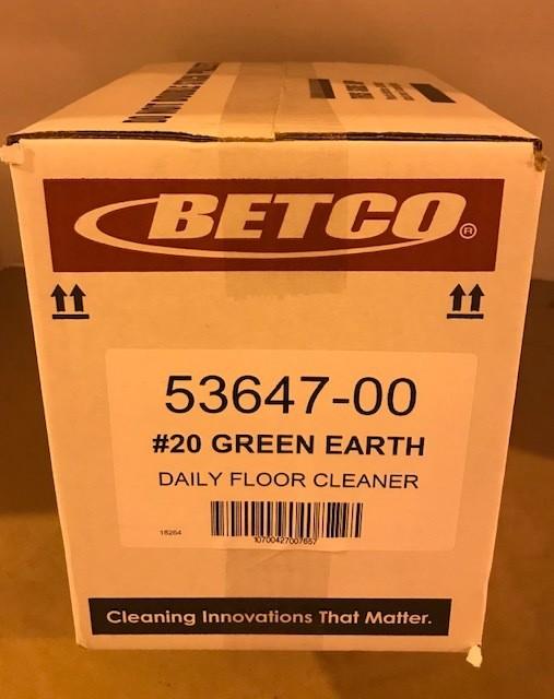 Cleaner, Floor, GREEN EARTH CONC. BETCO #20