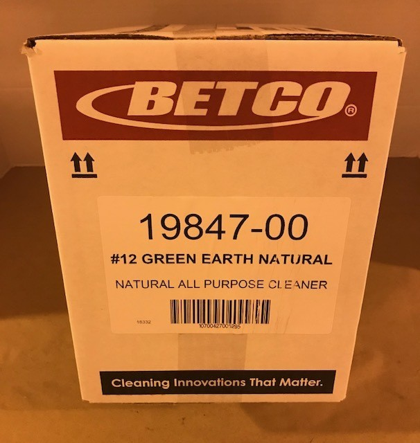 Cleaner, All-Purpose, GREEN EARTH CONC. BETCO #12