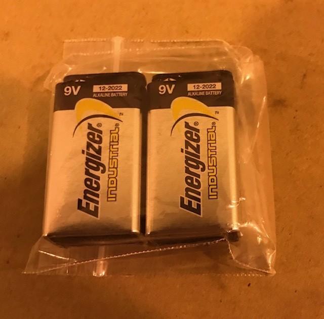 Battery, Alkaline, 9 Volt