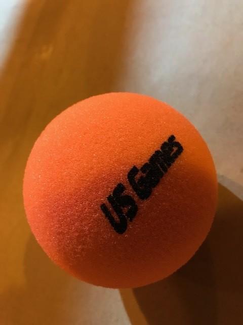 "Foam Ball, Uncoated 4"""