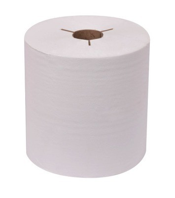 Paper Towels, White 800'/roll ECOSOFT #31400