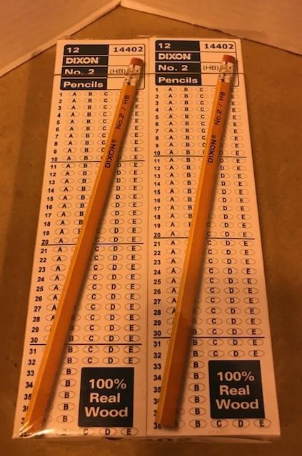 Pencils #2, w/eraser