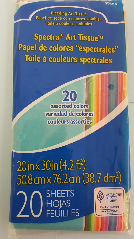 Paper, Tissue, Spectrum