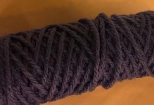 Yarn, Rug, Royal Blue