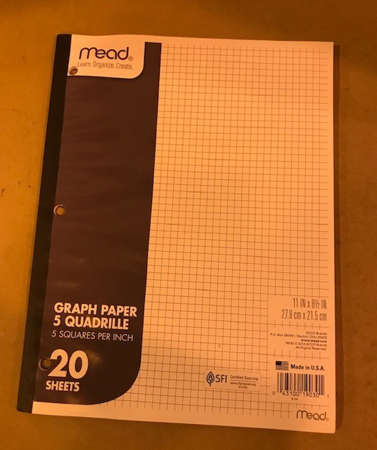 Paper, Graph, Pad