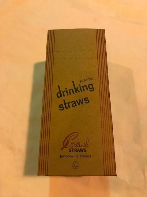 Straws, Clear, Plastic