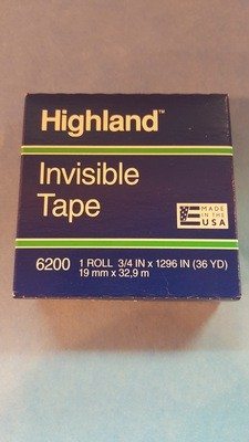 Tape, Frosted, 3/4""