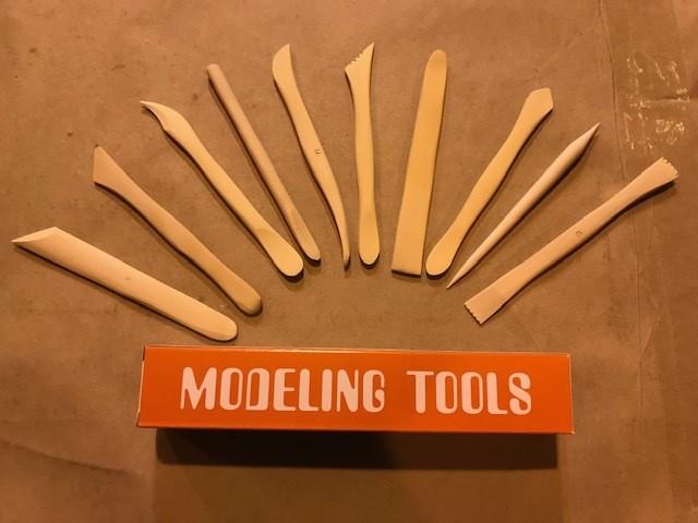 Clay Tools, 10/set