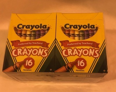 Crayon, 16 Colors/Box, #8