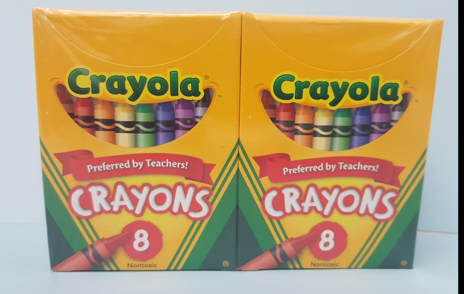 Crayons, 8 colors