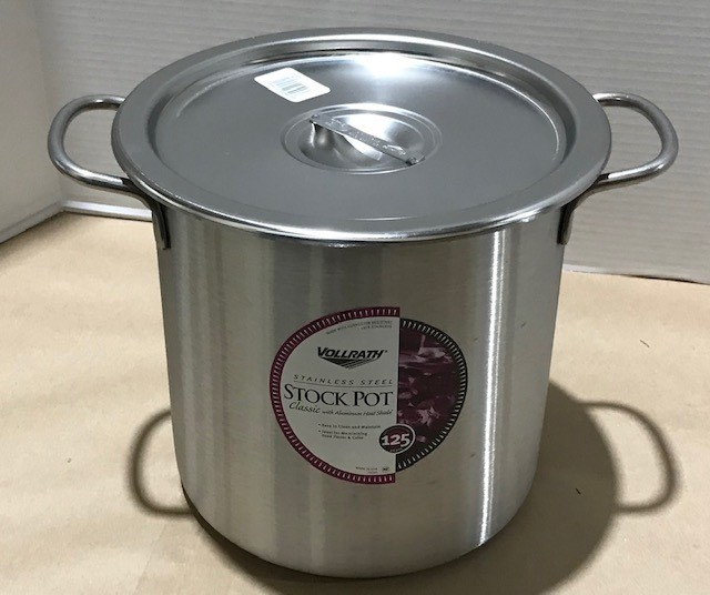 STOCK POT STOR CONT, W/CO