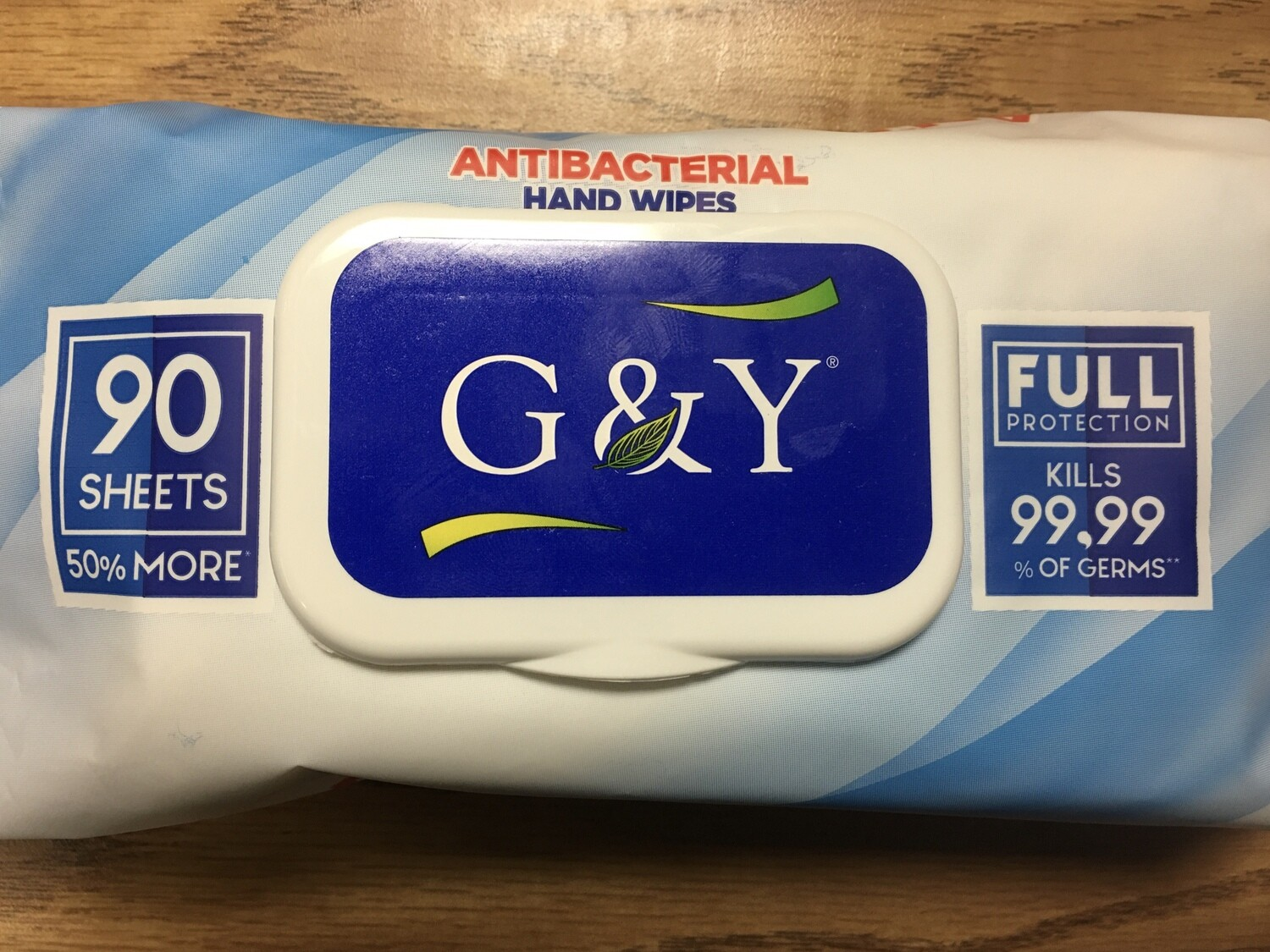 Wipe, Personal, Antimicrobial