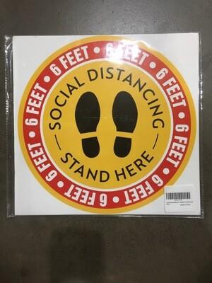 Sticker Floor Decal