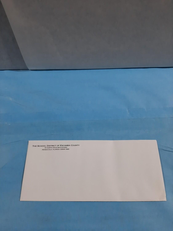 Envelope, #10, Pace Lette