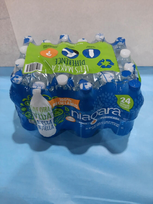 Water, 84 cs/per pallet,