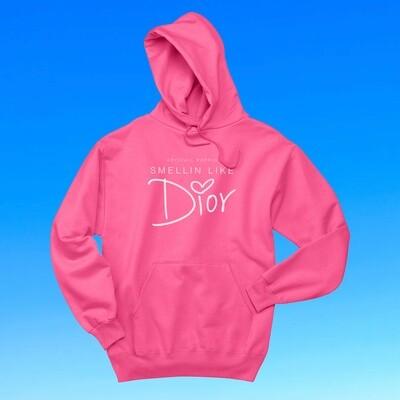 Smellin Like Dior Hoodie (Pink)