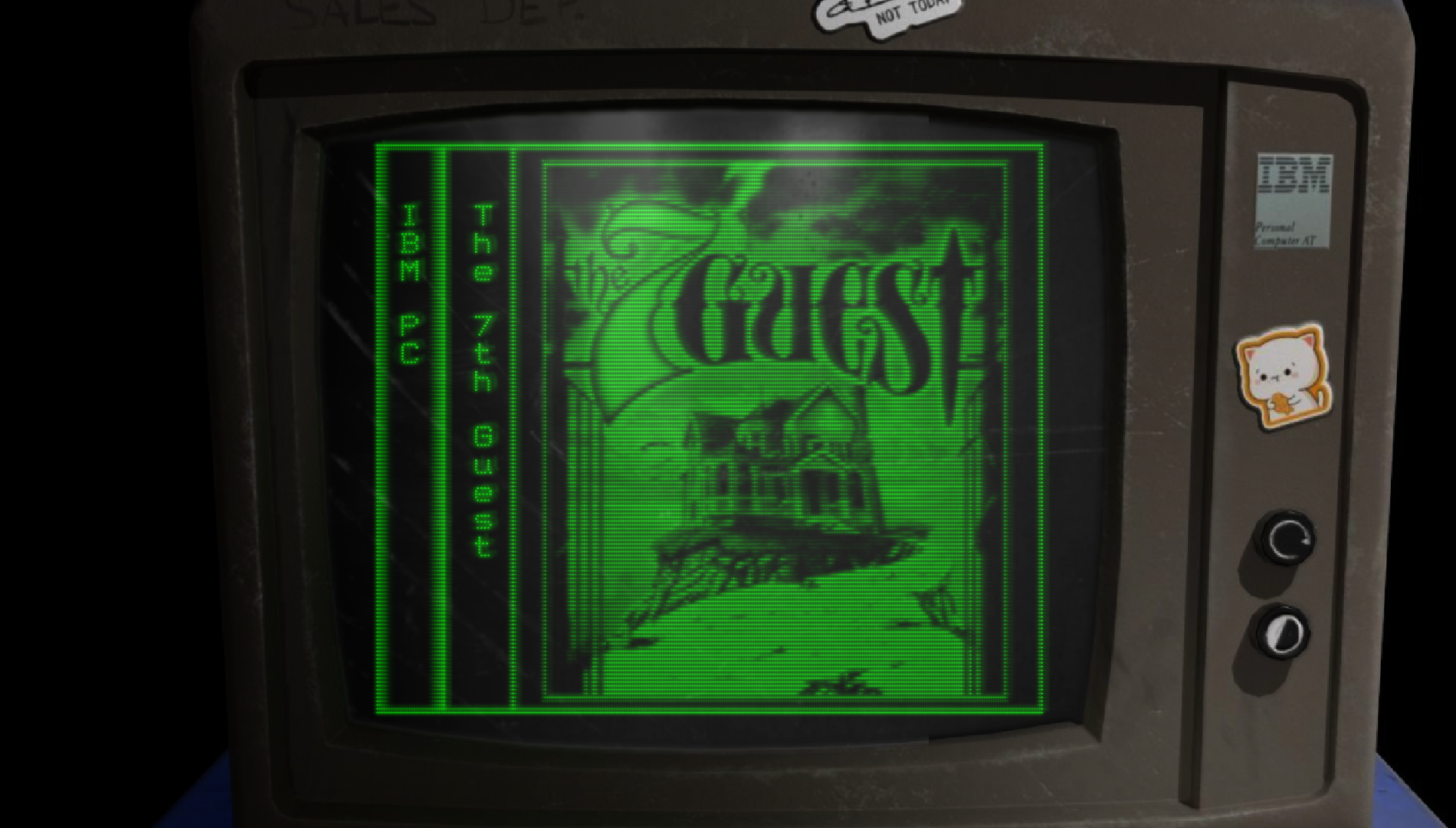 Big Green CRT (FREE Version)