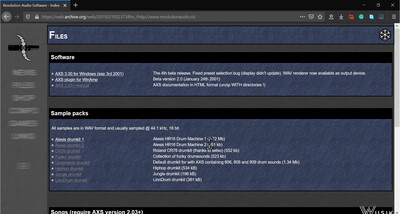 AXS Old Tracker